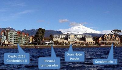 Gran Hotel Pucon Enjoy 1ra.sem2020 Cond2 6pers1er.pisojardin