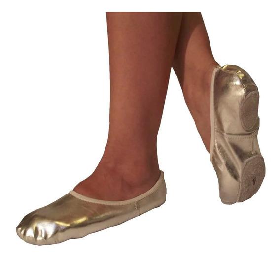 Zapatillas De Danza Árabe En Dorado Y Plateado