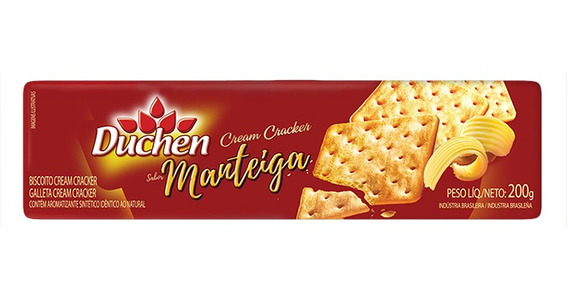 Biscoito Sabor Manteiga Cream Cracker 200g