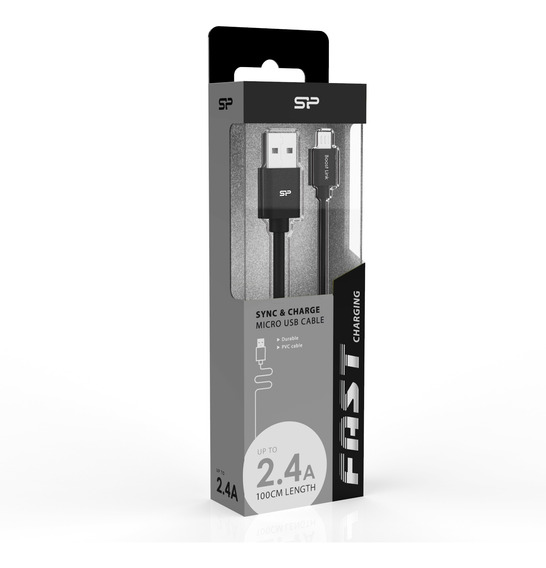 Silicon Power Cable Usb A Micro Usb Carga Rapida