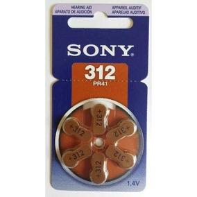 Pilha/bateria Para Aparelho Auditivo 312 Sony Frete Grátis