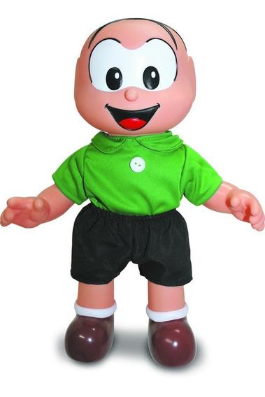 Boneco Cebolinha Turma Da Monica Classico Da Sidnyl 34cm