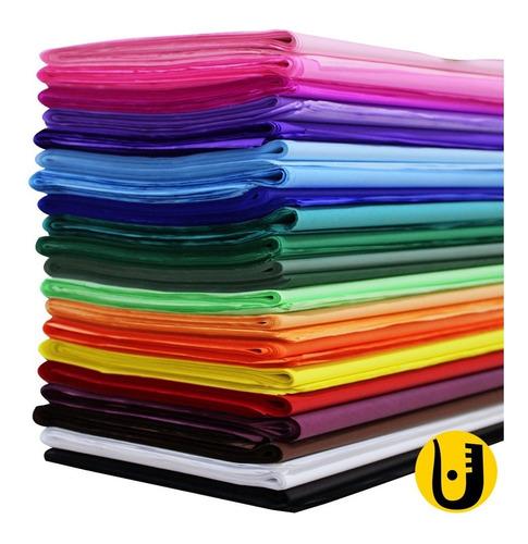 Imagem 1 de 3 de Papel De Seda 50x70 Cm. Pacote Com 100 Escolha As Cores