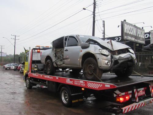 Sucata Mitsubishi Triton 3.2 Savana 2015 Venda De Peças