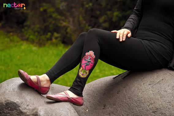 Leggings Mallónes Para Mujer De Algodón Tr025 Leggins