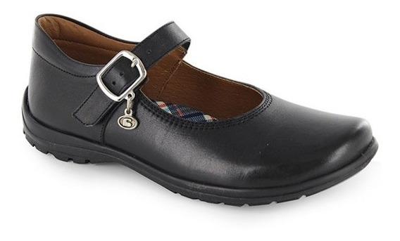Zapato Escolar Para Niña Coqueta Mod Danna Negro T22-27