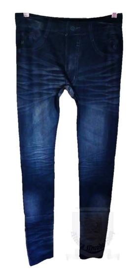 Calza Tipo Jean Importada Varios Modelos