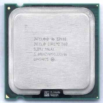 Intel Core2duo E8400 3.0ghz 6m 1333mhz Socket Lga775 Slb9j