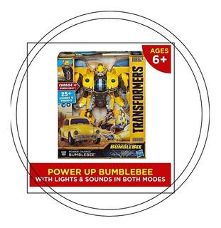 Transformers Bumblebee Energizado 25sonidosluces Caja Maltra