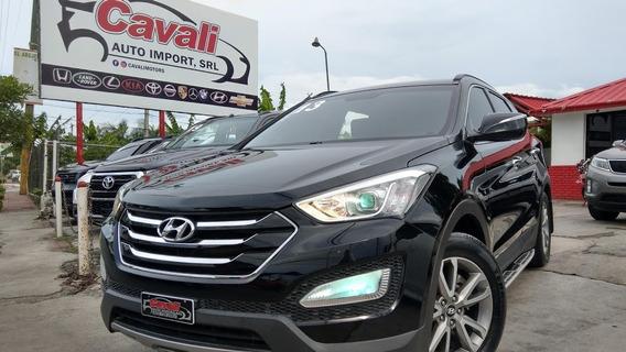 Hyundai Santa Fe Negra 2013
