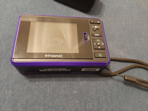 Imagem 1 de 7 de Câmera Digital Polaroid Instantânea Z2300p Lcd 3 10mp Roxa