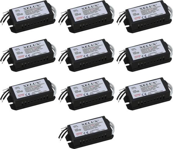 10 Transformador Eletronico Dimerizavel 105w / 220v - Xelux