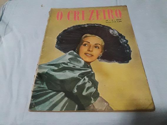O Cruzeiro 31/10/53 Marilyn Monroe/judas Do Maranhão/vargas