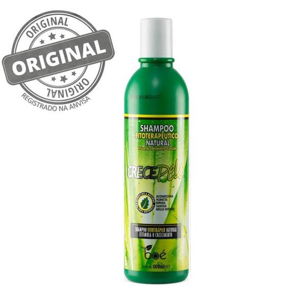 Boé Crecepelo Shampoo Natural Para Crescimento Capilar