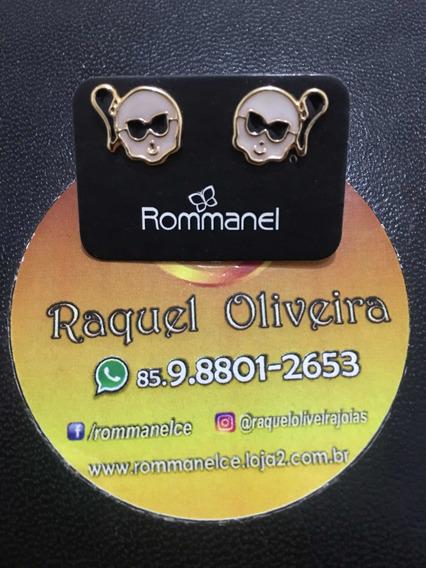 Brinco Rommanel Monstrinha Fashion