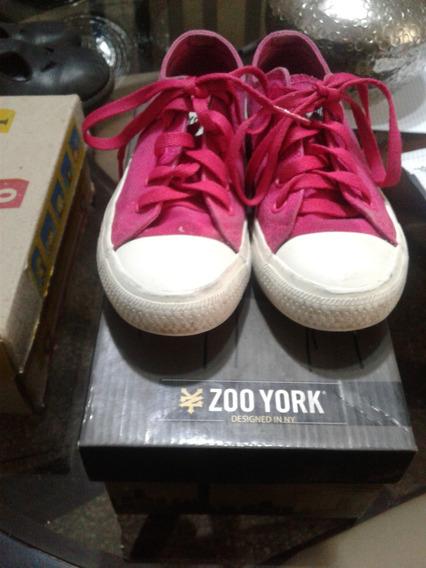 Zapato Usado Zoo York Para Niñas Talla 33