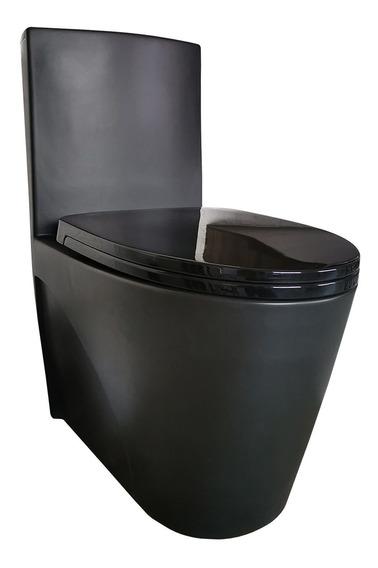 Vaso Sanitário Preto Fosco Reno R 600 - Novo Modelo