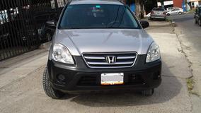 Honda Crv 4x2 Modelo 2006 Color Gris Automatica