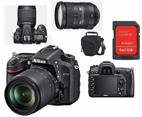 Nikon D7100 Lente 18-200mm + Bolsa+cartao 4gb