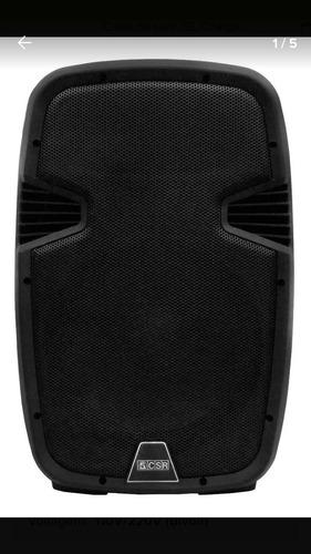 Caixa Bi Amplificada 10 - 100w Csr 5510 Bluetooth