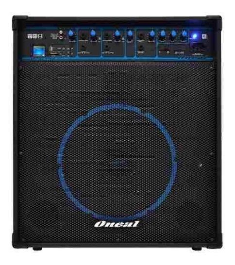 Caixa Amplificada O Neal 12 Ocm590bt 4c 80wrms Usb/sd/fm/bt