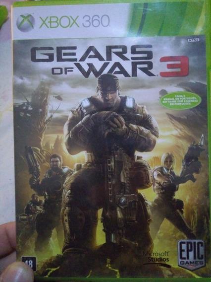 Jogo Gears Of War 3 Original Xbox 360
