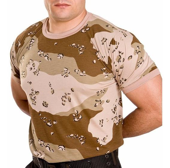 Camisa Camuflada Desert