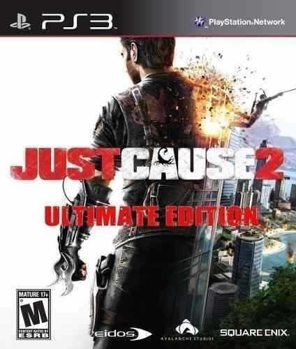 Just Cause 2 Ultimate + Dlcs - Jogos Ps3 Psn