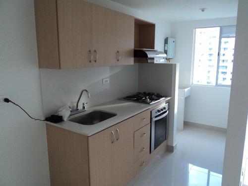 Vendo Hermoso  Apartamento Con 3 Cuartos, 2 Baños, 63mt