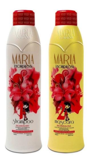 Maria Escandalosa Kit Cabelos Lindos - Produto Original