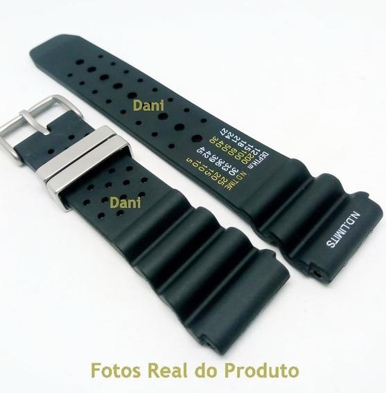 Pulseira Para Citizen Promaster E Outros 22mm Especial