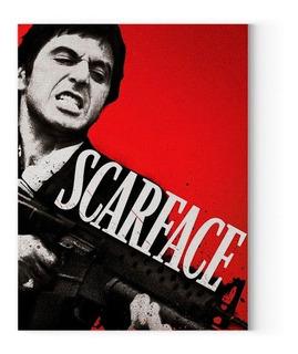 Cartel Scarface Poster Pelicula Cuadro Al Pacino