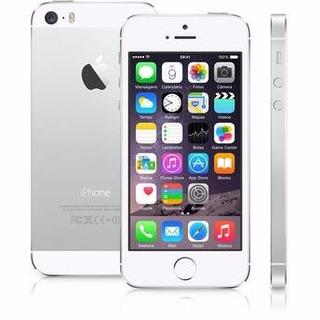 Apple iPhone 5s 16gb Prata Anatel 1 Ano De Garantia