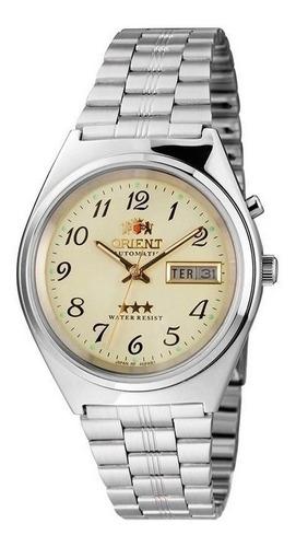 Relógio Orient Masculino Automático Prata - 469wb1a-c2sx