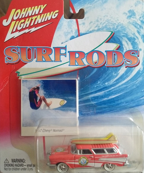 Auto Johnny Lightning 1957 Chevy Nomad Surf Coleccion Rdf1