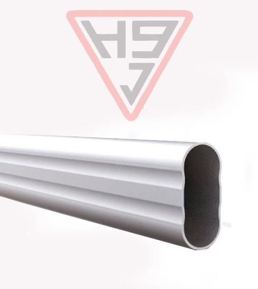 Caño Barral Oval Aluminio P/ Placares
