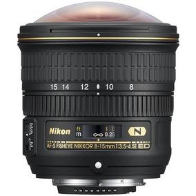 Lente Nikon Af-s Fisheye Nikkor 8-15mm F/3.5-4.5e Ed C/ N/f