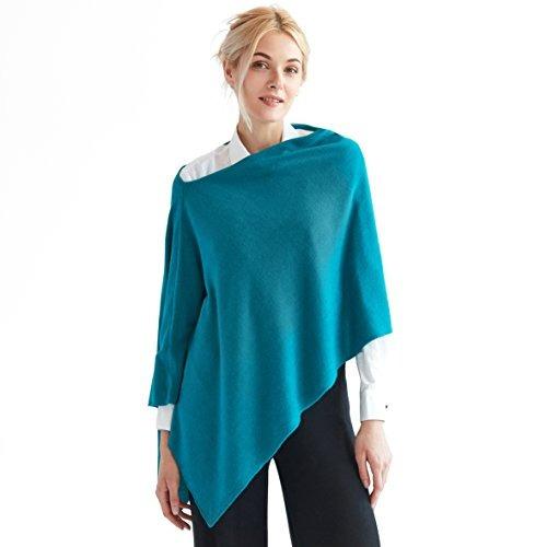 Imagen 1 de 9 de Sunny Tag Faux Cashmere Acrylic 3inone Knitted Poncho Topper