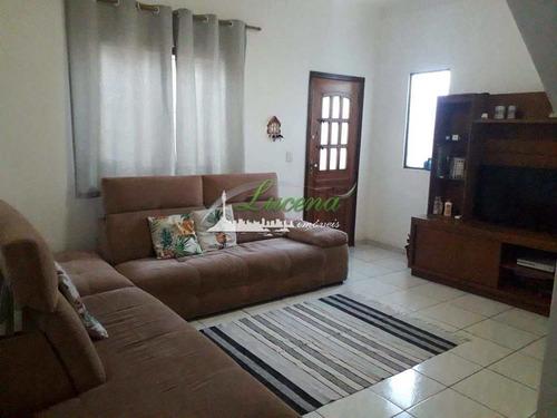 Casa Com 3 Dorms, Cidade Naútica, São Vicente - R$ 265 Mil, Cod: 6599 - V6599