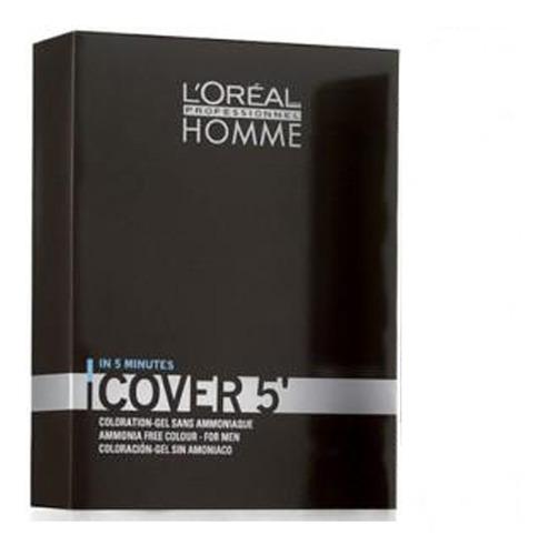Imagem 1 de 1 de Loreal Profissional Homme Cover 5 (castanho Claro N°5 C/ox