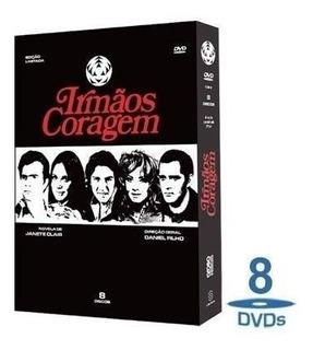 Dvd - Novela Irmãos Coragem - Box 8 Dvd
