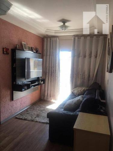 Apartamento Com 2 Dormitórios À Venda, 51 M² - Cond. Vitória Jundiaí - Morada Das Vinhas - Jundiaí/sp - Ap1337
