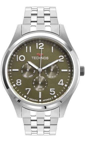 Relógio Technos Masculino Prata Original Garantia Lançamento