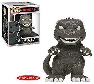 Funko Exclusive Black And White Godzilla Pop! Figura De Vin