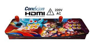 Joystick Consola Arcade Dobl Conexion Direct Hdmi Nuevas Gar