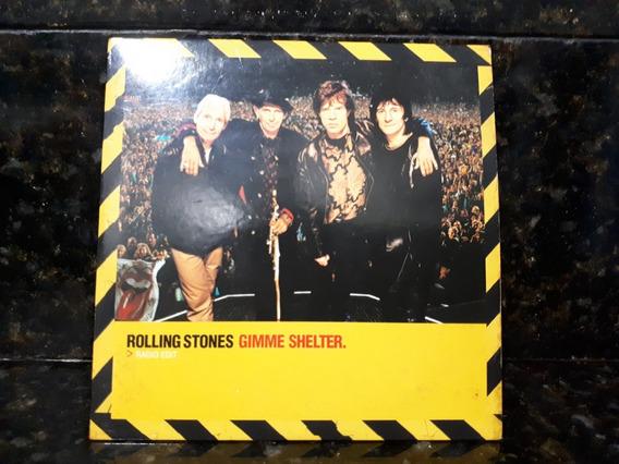 Cd Single Digipack Rolling Stones Gimme Shelter