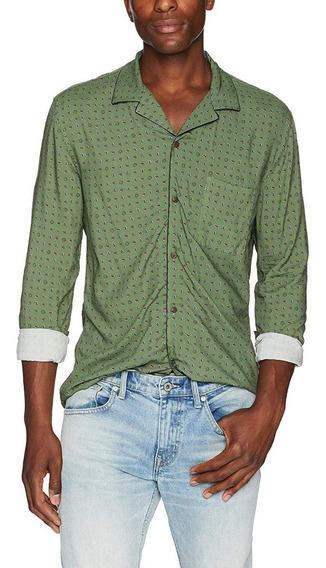 Super Exclusiva Camisa The Kooples Paris Paisley L Slim Fit
