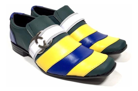Sapato Masculino Social Cores Brasil Top Stylo Ref. 7065
