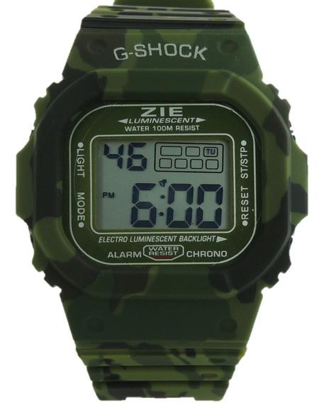 Relógio Masculino Digital Zie Camuflado C-shock Oferta