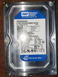 Disco Rigido Western Digital 250gb Pc De Escritorio